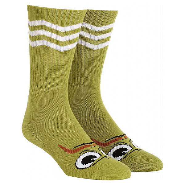 Носки средние Toy Machine Turtleboy Stache Sock Green