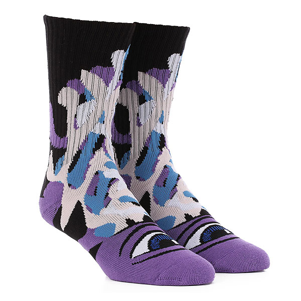 Носки средние Toy Machine Barf Sect Sock Purple