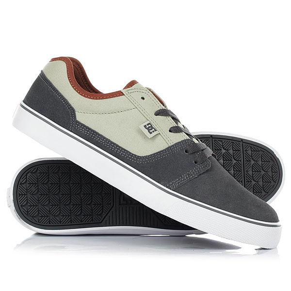 Кеды кроссовки низкие DC Tonik Grey Ash dc shoes кеды dc heathrow se 11