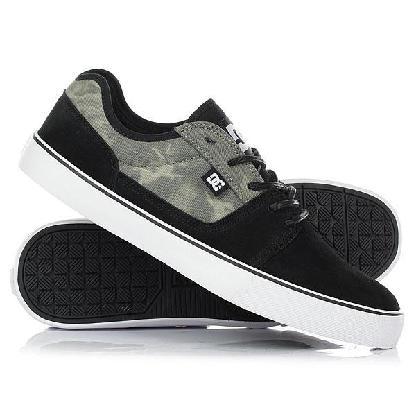 Кеды кроссовки низкие DC Tonik Se Black Destroy Wash dc shoes кеды dc heathrow se 11