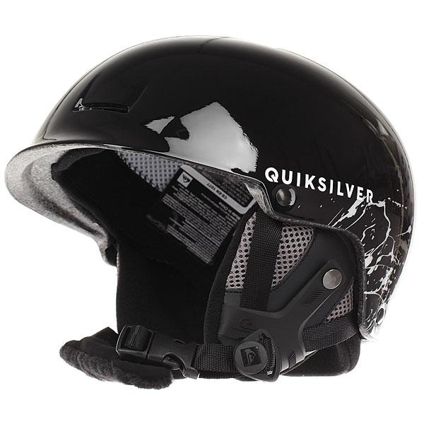 Шлем для сноуборда Quiksilver Fusion Deep BlackСовременный шлем с небольшим козырьком от Quiksilver - залог Вашей безопасности на склоне. Легкая, но очень прочная конструкция, комфортная и надежная, она будет держать Вас в тепле, предохраняя при этом от нежелательных воздействий. Quiksilver Fusion обладает всеми необходимыми опциями: съемные накладки на уши, пассивная вентиляция, подкладка из сетки и флиса, клипса для крепления маски - все это и много другое превращает неизбежную необходимость во вполне приятные и положительные эмоции.Характеристики:Шлем для занятий зимними видами спорта.Двойной микрошелл + сверхлегкая литая конструкция. Ударопоглощающий пенный полимер EPS. Фронтальная и верхняя пассивная вентиляция. Подкладка из сетки и флиса. Мягкие термоформованные съемные накладки на уши. Подбородочный ремень с мягкой флисовой подкладкой. Клипса для крепления ремня от маски. Принт с логотипом. Сертификация: EN1077.<br><br>Цвет: черный<br>Тип: Шлем для сноуборда<br>Возраст: Взрослый<br>Пол: Мужской