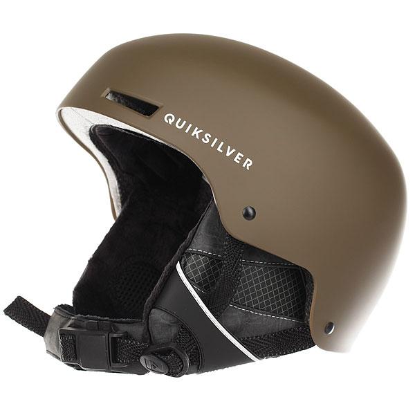 Шлем для сноуборда Quiksilver Axis Cub<br><br>Цвет: коричневый<br>Тип: Шлем для сноуборда<br>Возраст: Взрослый<br>Пол: Мужской