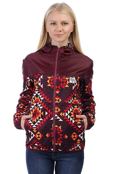 Толстовка классическая женская Billabong Cold Winter Navajo Red<br><br>Цвет: бордовый<br>Тип: Толстовка классическая<br>Возраст: Взрослый<br>Пол: Женский