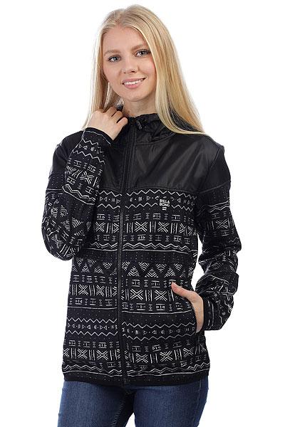 Толстовка классическая женская Billabong Cold Winter Wandering Black<br><br>Цвет: черный,белый<br>Тип: Толстовка классическая<br>Возраст: Взрослый<br>Пол: Женский