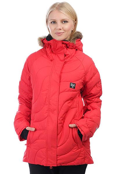 Куртка утепленная женская Billabong Soffya Poppy Red<br><br>Цвет: красный<br>Тип: Куртка утепленная<br>Возраст: Взрослый<br>Пол: Женский