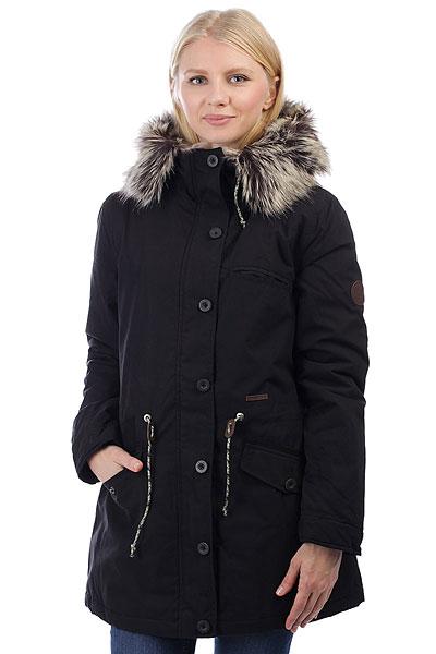 Куртка парка женская Billabong Warm Daze Off BlackУтепленная хлопковая парка, готовая создать стильный силуэт и защитить от ветра и холода. Объемный капюшон с меховой отделкой добавит тепла, а сдержанный дизайн дополнен функциональными карманами. Billabong WARM DAZE - практичный и удобный городской вариант для холодных дней, вещь, в которой Вы всегда будете чувствовать себя комфортно. Характеристики:Стандартныйкрой. Двухпанельная подкладка: верх - искусственный мех, низ - стеганая подкладка. Регулируемая талия.Отделка капюшона искусственным мехом. Нагрудный карман. Два кармана для рук. Застежка на молнии с ветрозащитной планкой на пуговицах. Нашивка с фирменным логотипом.<br><br>Цвет: черный<br>Тип: Куртка парка<br>Возраст: Взрослый<br>Пол: Женский
