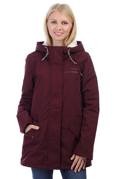 Куртка парка женская Billabong Facil Iti Bordeaux