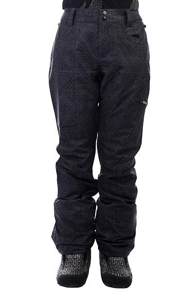 Штаны сноубордические женские Billabong Suka+ BlackГородской стиль в сноубордической одежде всегда будет актуален, именно поэтому подобные, зауженные модели еще долго не выйдут из моды. Что касается технологичности, то она - на высоте! Смотрите сами, мембрана 15000 на 15000, непромокаемый внешний материал, полностью проклеенные швы, гейтор для ботинок - все это, вкупе с возможностью пристегнуть штаны к Вашей куртке - дает сноубордические штаны с отличным дизайном и функционалом. Характеристики:Зауженный крой. Мембранная ткань 15000 г / 15000 мм. Теплая подкладка из тафты. Критически проклеенные швы.Эластичная регулировка пояса на липучках. Вентиляционные отверстия на молнии свнутренней стороны бедра с сетчатым материалом. Теплые карманы для рук.Карман на молнии на штанине. Задние карманы на кнопках. Снегозащитные гетры. Расширение к низу штанины накнопке.<br><br>Цвет: черный,серый<br>Тип: Штаны сноубордические<br>Возраст: Взрослый<br>Пол: Женский