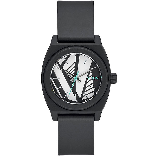 Кварцевые часы Nixon Small Time Teller P Black/Bleach часы nixon corporal ss matte black industrial green