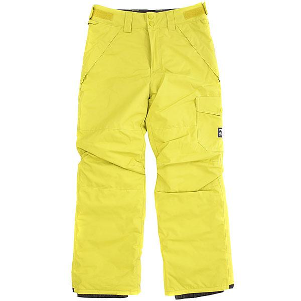 Штаны сноубордические детские Billabong Score Yellow