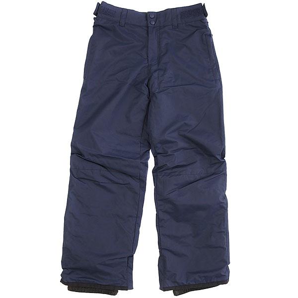 Штаны сноубордические детские Billabong Grom NavyДетские сноубордические штаны с уникальной технологией GroRoom, позволяющей юным райдерам носить их не один сезон, так как брюки способны расти вместе с их обладателем. Кроме того, они оснащены высококачественным мембранным материалом, защищающим от промокания, и лёгким утеплителем Polyfill, прекрасно сохраняющим тепло. То, что нужно для комфортного катания в течение всего дня!Характеристики:Мембранная дышащая влагостойкая ткань 10k (10000 мм / 10000 г/м2). Утеплитель Polyfill 40 г. Подкладка из тафты с трикотажными панелями с начёсом. Классический крой. Технология GroRoom. Проклеенные критические швы. Регулируемый пояс на липучках. Петли для ремня. Низ штанин на кнопках с возможностью расширения. Усиленные кромки штанин.<br><br>Цвет: синий<br>Тип: Штаны сноубордические<br>Возраст: Детский