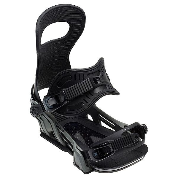 Крепления для сноуборда Bent Metal Solution Black