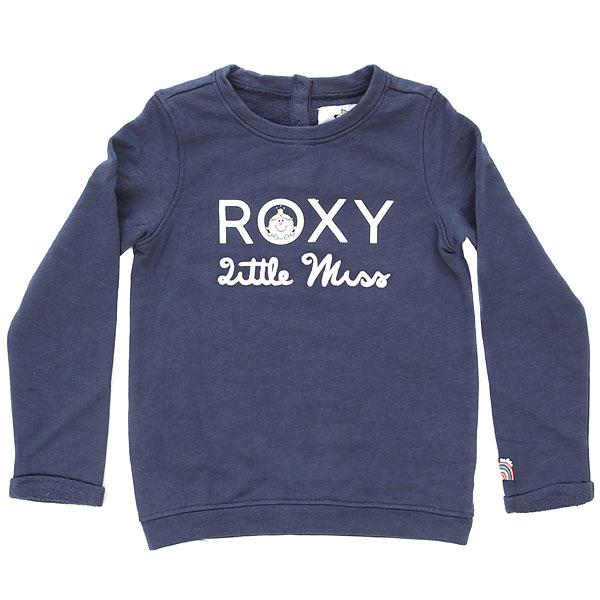 Свитшот детский Roxy Itfeelsgood Dress Blues<br><br>Цвет: Темно-синий<br>Тип: Свитшот<br>Возраст: Детский