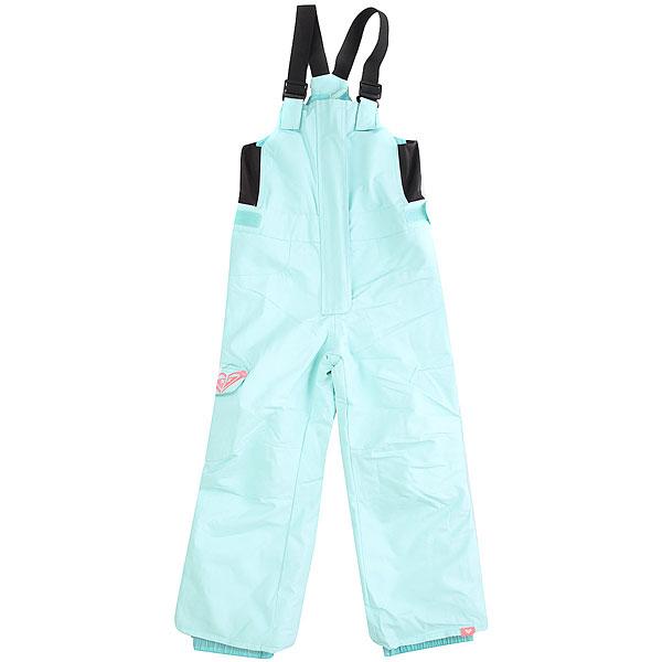 Штаны сноубордические детский Roxy Lola Aruba BlueИдеальный вариант для утепленной зимней куртки - штаны с высокой спинкой и нагрудником, ведь в таком комплекте Ваш ребенок точно не замерзнет. У них удобные регулируемые лямки, проклеенные швы и мембранная ткань, пояс с регулировкой размера и регулируемая длина штанин, которая позволит использовать их на протяжении не одного сезона. Конечно, это далеко не все (полный список технологий можно посмотреть ниже), но перечислять все здесь не имеет смысла. Продуманная и удобная модель в отличной расцветке - Roxy как всегда на высоте. Характеристики:Стандартный крой. Мембрана: водостойкая 10K Roxy DryFlight®.Материал: саржа из полиэстера, эластичные боковые панели из лайкры. Утеплитель: синтетически наполнитель 80 г.Проклеенные в стратегических местах швы. Подкладка из тафты и трикотажа с начесом в зоне пояса. С высокой спинкой и нагрудником. Эластичные регулируемые лямки. Пояс с регулировкой размера. Система «на вырост» (брючины штанов с регулировкой длины растут вместе с ребенком!). Накладной карго-карман на правой штанине. Застегивается на молнию по всей длине. Снегозащитные гетры. Вышитый логотип на кармане. Тканая этикетка с логотипом на левой штанине.<br><br>Цвет: Светло-голубой<br>Тип: Штаны сноубордические<br>Возраст: Детский