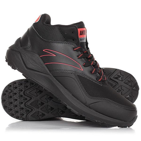 Ботинки зимние Anta 81746923-4 Black81746923-4<br><br>Цвет: черный,красный<br>Тип: Ботинки зимние<br>Возраст: Взрослый<br>Пол: Мужской