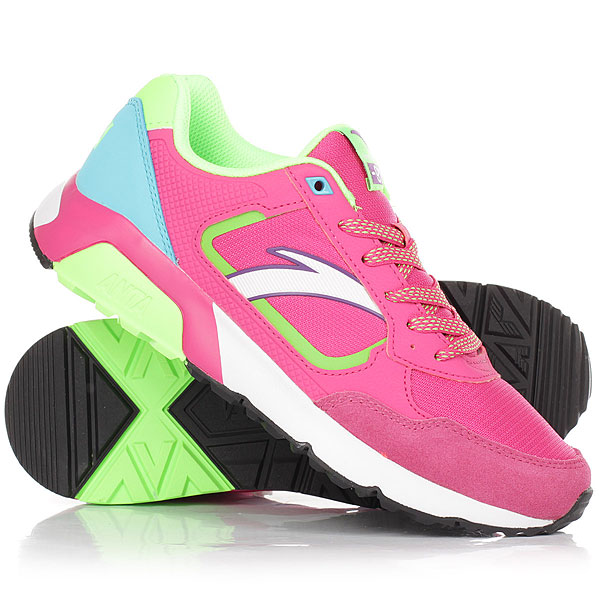 Кроссовки женские Anta 82618800-3 Pink