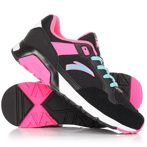 Кроссовки женские Anta 82618805-2 Pink82618805-2<br><br>Цвет: розовый,черный,голубой<br>Тип: Кроссовки<br>Возраст: Взрослый<br>Пол: Женский