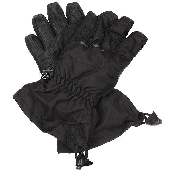 Перчатки сноубордические детские Dakine Yukon Glove Black перчатки dakine navigator glove rust