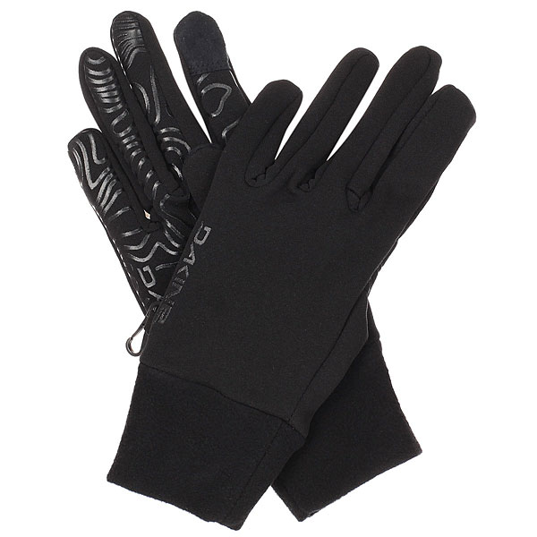 Перчатки сноубордические Dakine Storm Liner BlackФлисовые перчатки для мужчин. Можно использовать как самостоятельные лёгкие перчатки, а также в качестве дополнительной съемной теплоизолирующей подкладки в зимние перчатки или варежки.Технические характеристики: Материал - эластичный флис 4x4 280 гр.Силиконовый принт на ладони обеспечивает дополнительное сцепление.Перчатки совместимы с сенсорным экраном.<br><br>Цвет: черный<br>Тип: Перчатки сноубордические<br>Возраст: Взрослый<br>Пол: Мужской