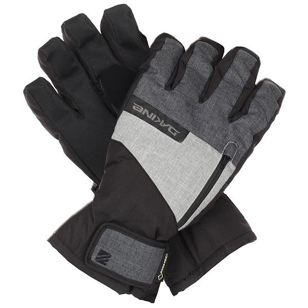 Перчатки сноубордические Dakine Titan Short CarbonМужские перчатки с короткой манжетой для очень холодной погоды. Отлично подойдут для фристайла или парка.Технические характеристики: Индекс тепла 4/5.Водонепроницаемая и дышащая мембрана GORE-TEX®.Утеплитель High loft synthetic 110 / 230г создает воздушное пространство, сохраняющее тепло и в то же время позволяет рукам дышать.Материал ладони Rubbertec - водонепроницаемый, устойчивый к истиранию материал повышенной прочности.Трикотажная подкладка 150 гр.Короткая манжета на липучке.Кармашек на молнии для самонагревающихся пакетов.Вставка для вытирания носа на большом пальце.Съемная внутренняя перчатка-подкладка из эластичного флиса 4x4 280г подходит для работы с сенсорным экраном.<br><br>Цвет: черный,серый<br>Тип: Перчатки сноубордические<br>Возраст: Взрослый<br>Пол: Мужской
