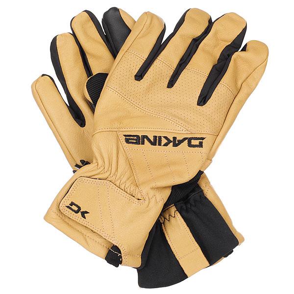 Перчатки сноубордические Dakine Daytona Glove Tan перчатки сноубордические dakine scout glove rasta