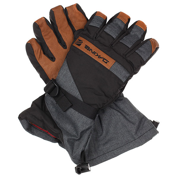 Перчатки сноубордические Dakine Nova Glove  Carbon перчатки dakine navigator glove rust