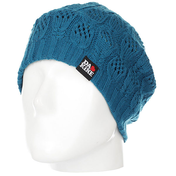 Шапка женская Dakine Ivy Moroccan Blue<br><br>Цвет: синий<br>Тип: Шапка<br>Возраст: Взрослый<br>Пол: Женский