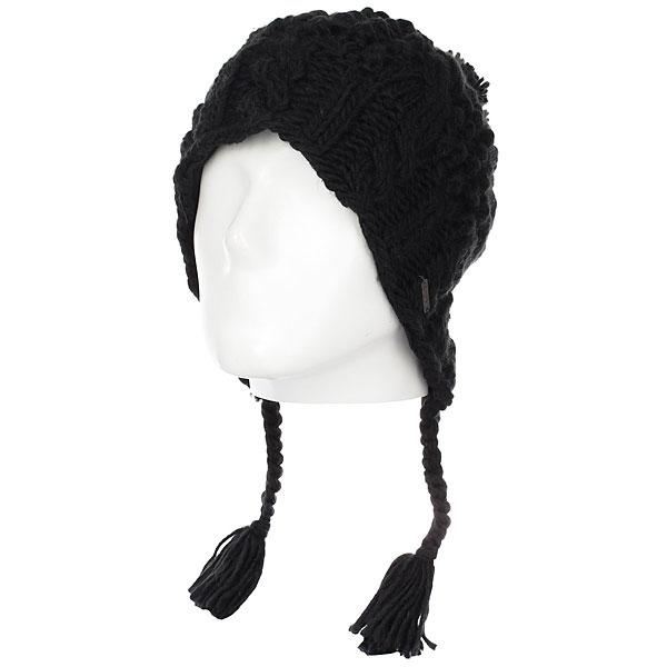Шапка женская Dakine Bree Black<br><br>Цвет: черный<br>Тип: Шапка<br>Возраст: Взрослый<br>Пол: Женский