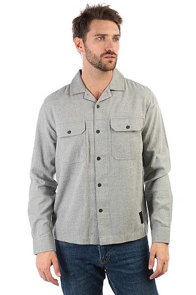 Рубашка Cheap Monday Guard Shirt Grey Melange<br><br>Цвет: серый<br>Тип: Рубашка<br>Возраст: Взрослый<br>Пол: Мужской