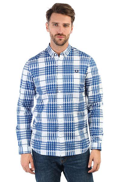 Рубашка в клетку Fred Perry Twill Check Shirt 520 цены онлайн