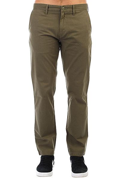 Штаны прямые Carhartt WIP Johnson Pant Rover Green<br><br>Цвет: зеленый<br>Тип: Штаны прямые<br>Возраст: Взрослый<br>Пол: Мужской