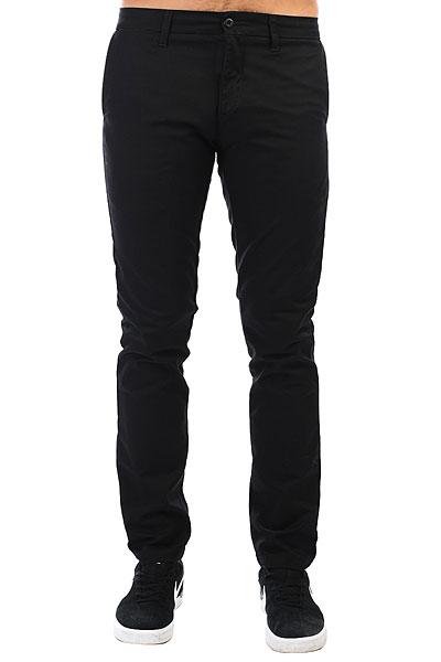 Штаны прямые Carhartt WIP Sid Pant Black<br><br>Цвет: черный<br>Тип: Штаны прямые<br>Возраст: Взрослый<br>Пол: Мужской