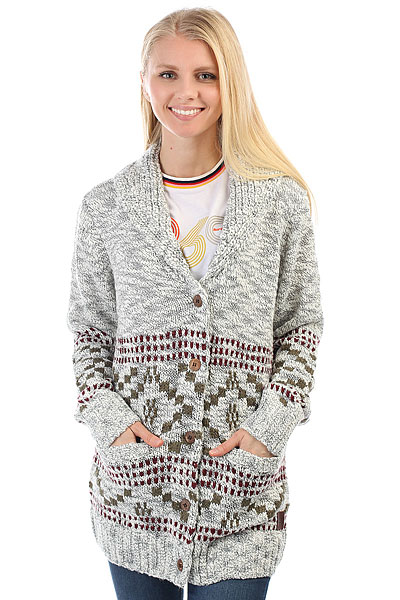 Кардиган женский Rip Curl Chilampo Sweater Cannoli Cream