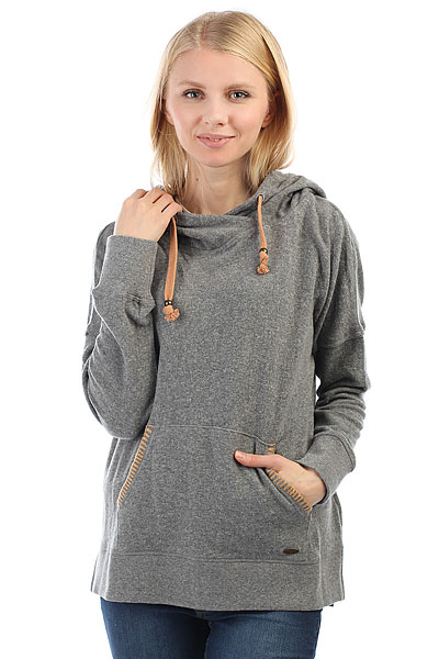 Свитер женский Rip Curl Sheridan Fleece Steel Marle толстовка свитшот rip curl beat fleece night sky
