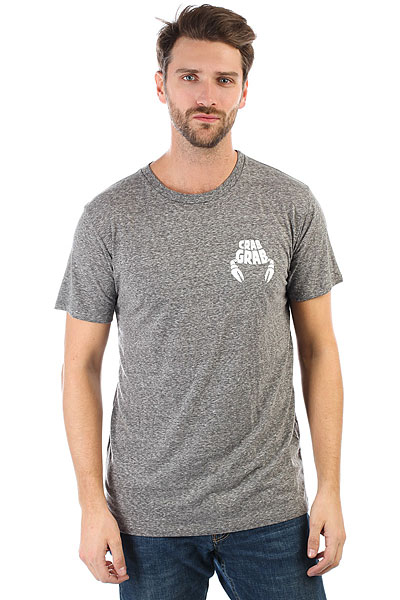 Футболка Crabgrab Worlds Best Tshirt Heather Grey<br><br>Цвет: серый<br>Тип: Футболка<br>Возраст: Взрослый<br>Пол: Мужской