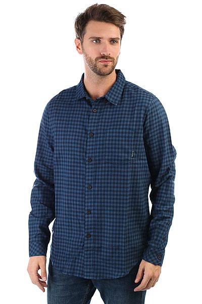 Рубашка в клетку Billabong Doyle Ls Deep Blue<br><br>Цвет: черный,синий<br>Тип: Рубашка в клетку<br>Возраст: Взрослый<br>Пол: Мужской