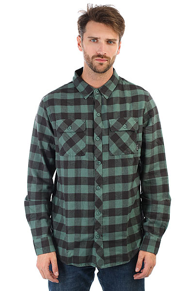 Рубашка в клетку Billabong All Day Flannel Ls Algae рубашка billabong all day oxford ls sh