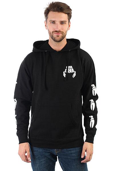 Толстовка кенгуру Crabgrab Claw Sleeves Hoody Black<br><br>Цвет: черный<br>Тип: Толстовка кенгуру<br>Возраст: Взрослый<br>Пол: Мужской