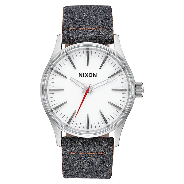 Кварцевые часы Nixon Sentry 38 Leather Gray/Tan