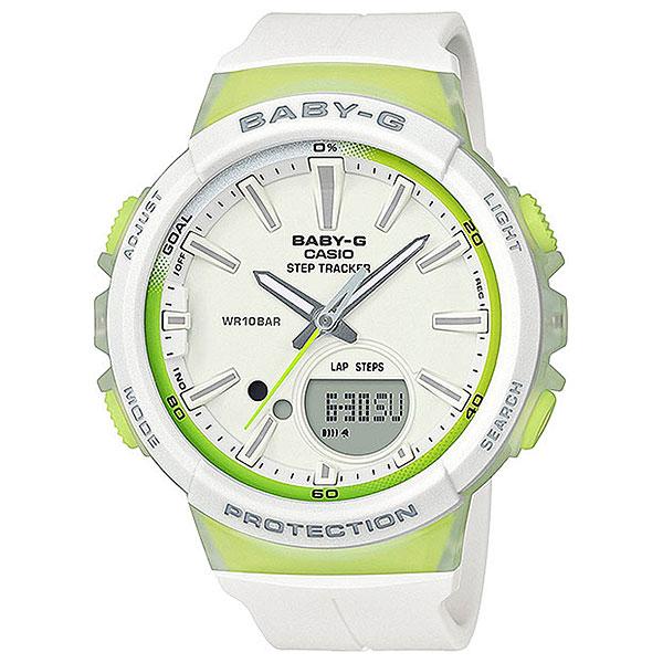 Кварцевые часы женские Casio G-Shock Baby-g Bgs-100-7a2 White casio g shock g classic ga 110mb 1a
