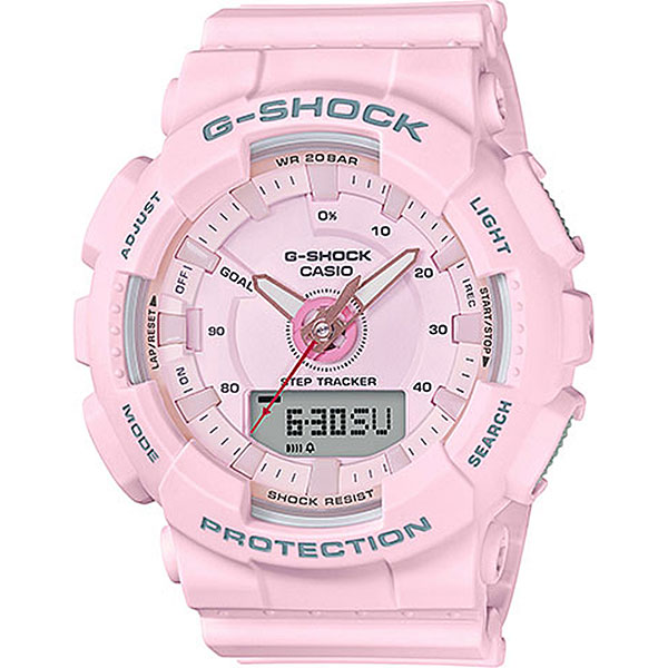 Кварцевые часы Casio G-Shock Gma-s130-4a Pink часы женские casio g shock gma s110mp 4a3 pink