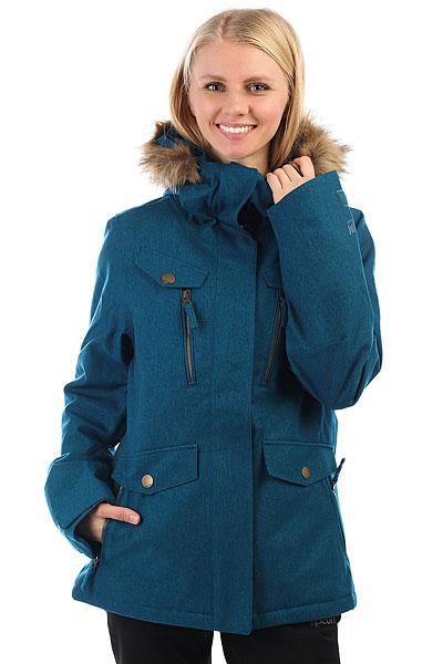 Куртка утепленная женская Rip Curl Chic Fancy Ink BlueChic - это модная куртка в стиле cross-over. Привлекательная и теплая куртка с отличными характеристиками. Коллекция Gum.Технические характеристики: Приятный на ощупь эластичный материал 2-way.Подкладка с принтом.Утеплитель 80г/ 60г.Критические швы проклеены.Съемный искусственный мех на капюшоне.Молнии YKK.Нагрудные карманы и карманы для рук, карман для скипасса, медиакарман и карман для маски.Вентиляционные молнии с подкладкой из сетки.Внутренние манжеты из лайкры.Снежная юбка.Подол на утяжке.Застежка на молнию с ветрозащитным клапаном.<br><br>Цвет: синий<br>Тип: Куртка утепленная<br>Возраст: Взрослый<br>Пол: Женский