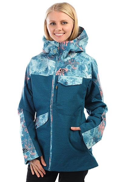 Куртка утепленная женская Rip Curl Harmony Gum Ink Blue футболка женская rip curl moon island blue depths