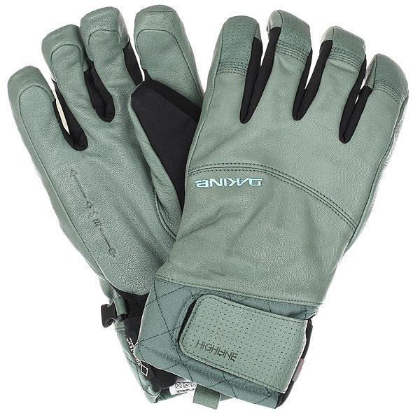 Перчатки женские Dakine Highlander Balsam<br><br>Цвет: черный,Светло-зеленый<br>Тип: Перчатки<br>Возраст: Взрослый<br>Пол: Женский