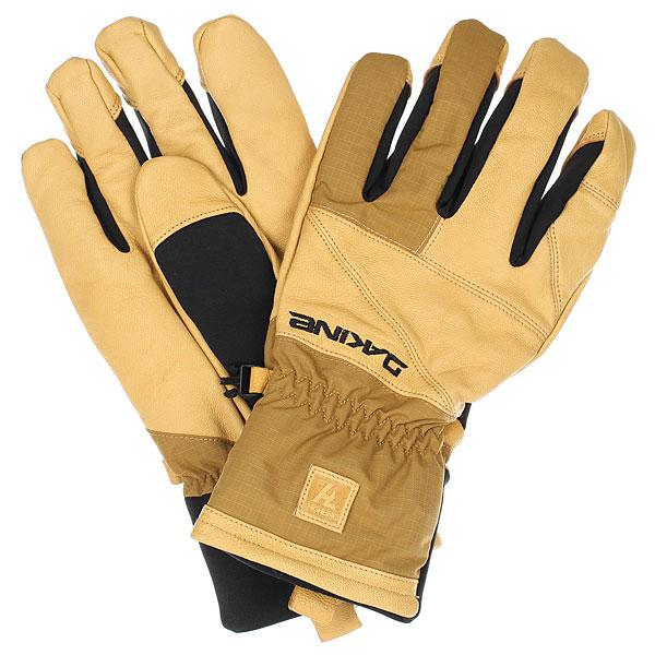 Перчатки Dakine Pacer Glove Buckskin перчатки сноубордические женские dakine charger glove buckskin