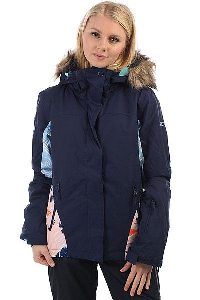 Куртка утепленная женская Roxy Jet Ski Mandarin Orange PopСпециальный выпуск куртки Roxy Jet Ski в этом сезоне состоит из премиум-расцветок, которых нет в основной версии. Так что если Вы не хотите постоянно видеть на склоне своих клонов, выбирайте SE, и вероятность этого сразу же станет значительно меньше.Короткая и стильная, яркая и теплая - это Roxy Jet Ski, в которой Вам будет удобно как на склоне, так и на улицах города. Зауженный крой не стесняет движений и при этом отлично смотрится, мембранная ткань быстро отводит лишнюю влагу, и не пускает ее снаружи, легкий современный утеплитель Warmflight® не позволит холоду застать Вас врасплох, а юбка для защиты от снега и объемный отстегивающийся капюшон с меховой оторочкой (а также масса других дополнительных опций) сделают Вашу жизнь зимой еще позитивнее.Характеристики:Зауженный крой Slim. Мембрана: водостойкая 10K ROXY DryFlight®.Материал: саржа из полиэстера. Подкладка из тафты и со вставками из трикотажа с начесом. Утеплитель: наполнитель Warmflight® (тело — 120 г, рукава — 100 г, капюшон — 60 г). Мягкая защита подбородка. Объемный отстегивающийся капюшон с тремя вариантами регулировки и съемной оторочкой из искусственного меха. Проклеенные в критических местах швы. Юбка для защиты от снега. Карабин для ключей. Система пристегивания штанов к куртке. Застегивается на молнию по всей длине. Два кармана для рук с доступом на молнии. Внутренний медиа-карман. Сетчатый карман для маски. Карман на рукаве для ски-паса.Регулируемые манжеты. Вентиляция подмышками. Гейтеры из лайкры + небольшая удобная вставка в манжете.<br><br>Цвет: Темно-синий<br>Тип: Куртка утепленная<br>Возраст: Взрослый<br>Пол: Женский