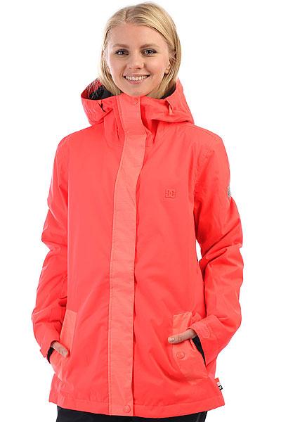 Куртка утепленная женская DC Perimeter Fiery CoralСтильная и функциональная сноубордическая куртка DC Perimeter с мембраной и утеплителем. Капюшон с утяжками, вместительные карманыи снегозащитная юбка. Выдержана в нежной монохромной расцветке.Характеристики:Стандартный крой. Регулируемый капюшон с козырьком. Мембрана:водостойкая 10K DC WEATHER DEFENSE.Синтетический утеплитель(100 г тело, 60 г рукава). Подкладка из тафты.Проклеенные швы. Фиксированная снегозащитная юбка. Вентиляционные вставки в проймах. Возможность крепления куртки к штанам. Утеплённые карманы для рук. Внутренний карман на липучке. Сетчатый внутренний карман. Карман для ски-пасса. Манжеты из лайкры.<br><br>Цвет: розовый<br>Тип: Куртка утепленная<br>Возраст: Взрослый<br>Пол: Женский