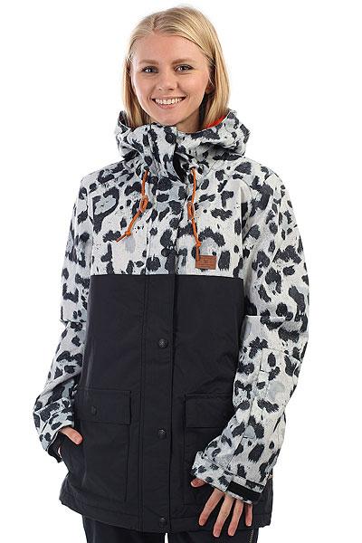 Куртка утепленная женская DC Cruiser Snow Leopard куртки dc shoes куртка