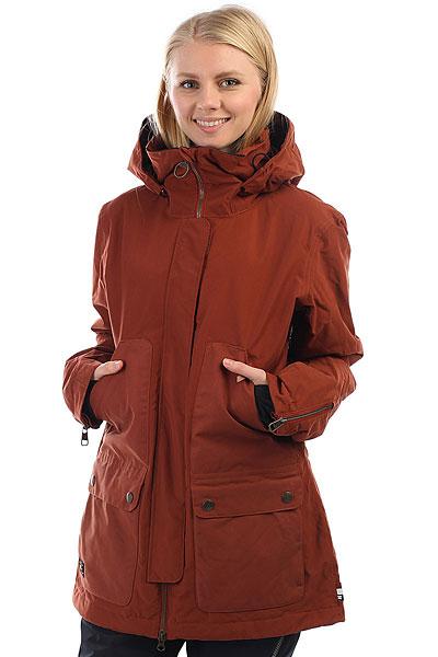 Куртка утепленная женская DC Panoramic Burnt Henna куртки dc shoes куртка