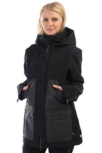 Куртка утепленная женская DC Panoramic Black куртки dc shoes куртка